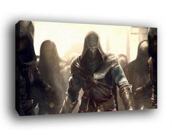 Assassins Creed Canvas Art Print Ezio Auditore A1 A2 A3 A4