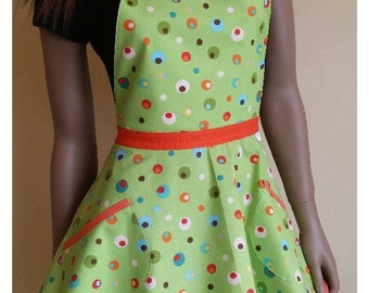 Australian made Flirty 'Spots Galore' Apron