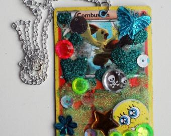 Pokemon Card Pendant Necklace