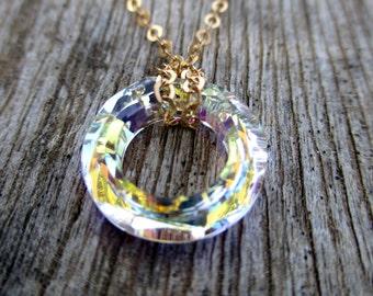 Swarovski Crystal Necklace, Crystal Necklace, Swarovski Necklace, Crystal Necklace Pendant, Crystal Pendant, Crystal Pendant Necklace