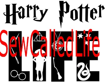 Harry Potter Life- Sytherin - Harry Potter inspired SVG for shirts or decals
