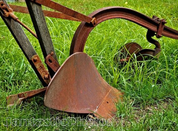 Antique Spike Harrows : Antique plow horse bing images