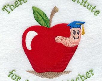 Teacher towel, great teacher, special teacher, teacher gift, no substitute for this teacher, favorite teacher.