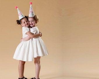 Halloween Clown hat ,  Clown costume, Handmade costume,  Halloween costume, children girl, Xmas gift