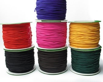 DIY Cored Wire Elastic Cord Rubber Band Line-WEN43652318219-GVN