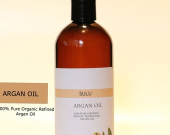 Cold pressed Moroccan Argan Oil organic 100% pure oil from 4 oz(118 ml) up to 7 lbs