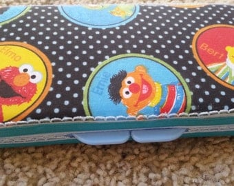 Sesame Street Diaper Wipe Case