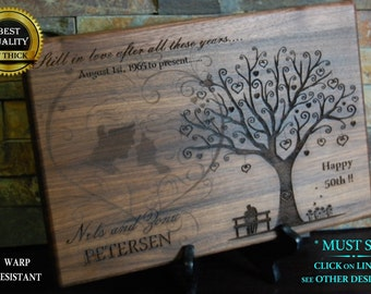 Personalized Cutting Board, Engraved Cutting Board, Custom Board, Wedding Gift, Anniversary, Bridal Gift, Christmas Gift