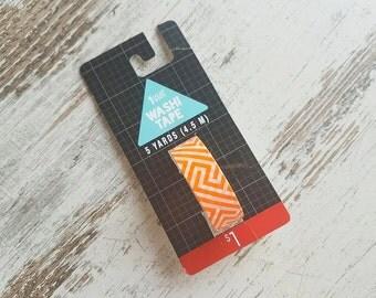 Target washi tape orange