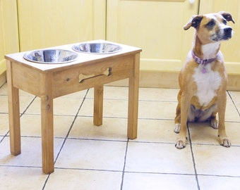 Dog Feeding Stand (wooden)