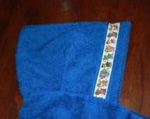Paw Patrol Hooded Towel, Blue or Red - For babies, toddlers, preschoolers and beyond!