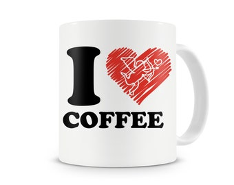 I Love Coffee Mug~ Coffee Lovers~
