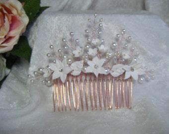 Wedding bridal hair comb hair accessory