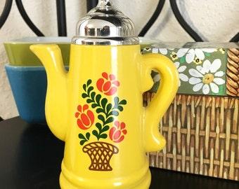 Vintage Avon Koffee Klatch Foaming Bath Oil Bottle