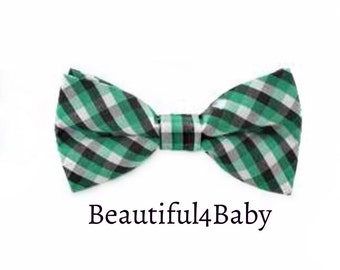 Baby Bow Tie, Green Baby Bow Tie,Baby Bowties,Infant Bow Tie,Infant Bow Ties, Toddler Bow Ties, Baby Bow, Baby Bows