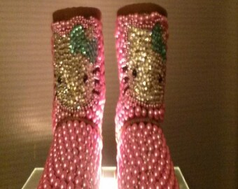 Hello Kitty Custom Ugg for girls