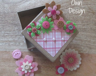 Trinket Box, DIY Party Craft, Party Supplies