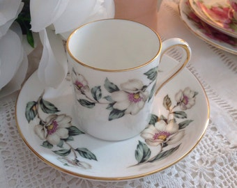 Crown Staffordshire Coffee cup and saucer