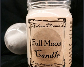 Full Moon Magic Spell Candle