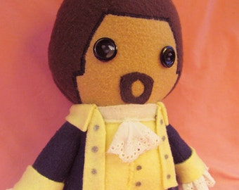 Alexander Hamilton Fleece Plush Doll