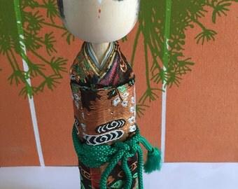 Geisha Kokeshi Doll