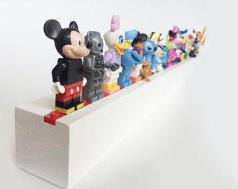 Red - Lego Minifig Shelf