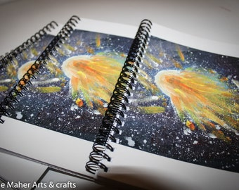 Space Comet Notebooks.