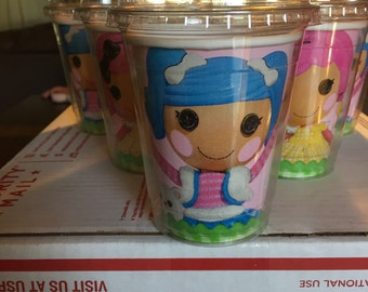Lalaloopsy favor cups-set of 8