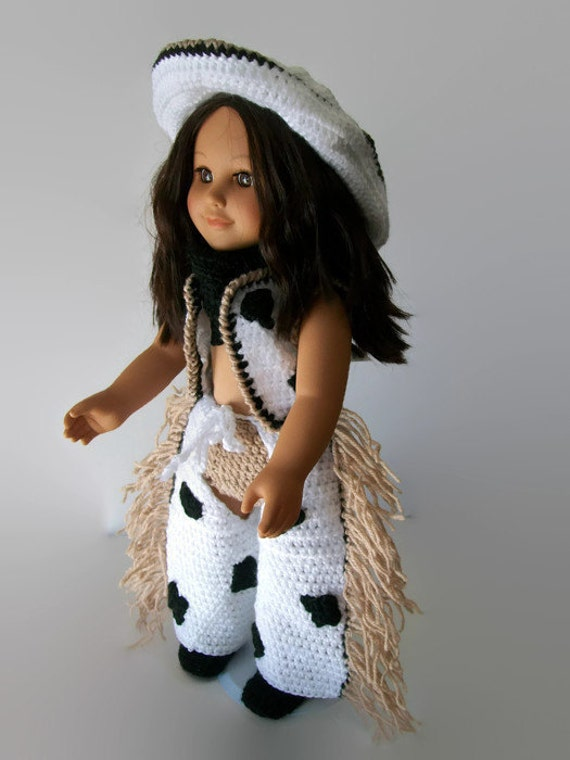 Cowgirl Pattern for Vintage Dolls