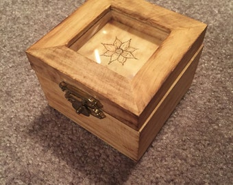 Small Wood Burned Box
