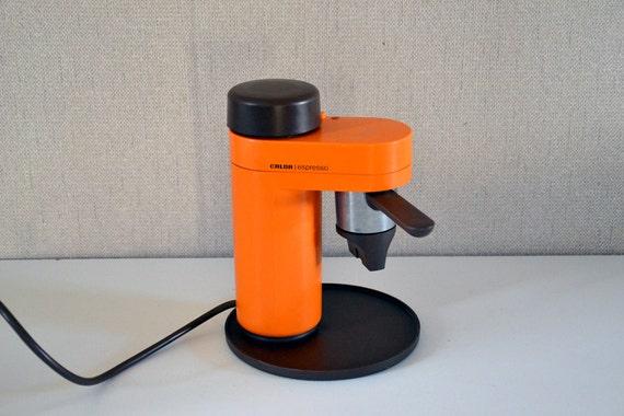 Coffee Maker Made In France : Vintage espresso machine CALOR Made in France / orange 70s