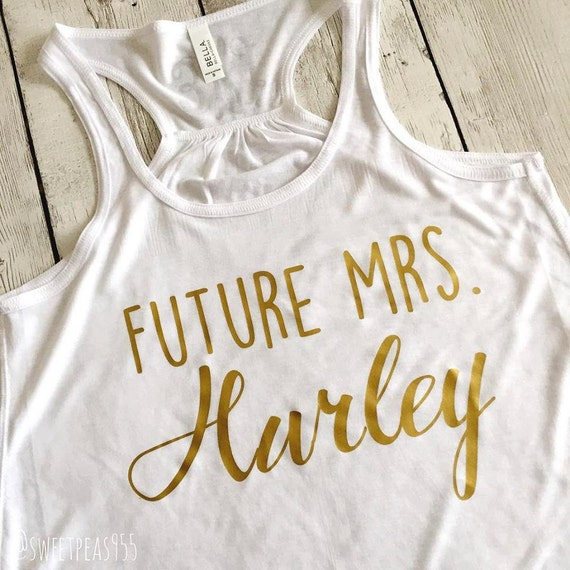 Cute Future Mrs. Tank Top