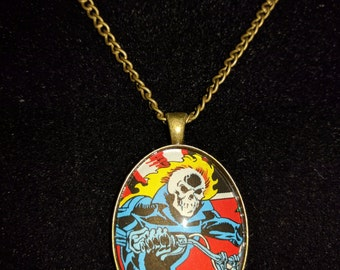 Marvel Ghost Rider Large Pendant