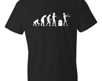 Zombie Evolution Shirt, Zombie Shirt, Zombie T-Shirt, Funny Zombie Shirt, Zombie Fan, Horror Shirt, Halloween Shirt, Halloween Gift #OS159