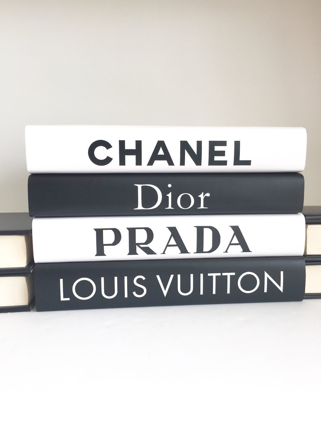 Chanel Book Cover Printable : Fashion designer inspired books chanel dior prada louis