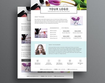 blogger media kit template