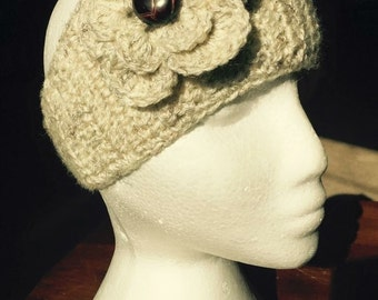 Flower Accent Headband (Made to Order)