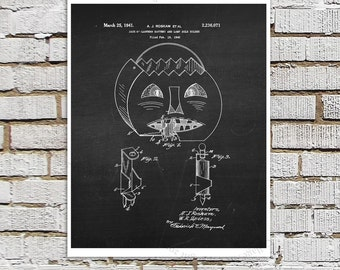 Jack-o-Lantern Chalkboard print #6, Halloween Party Decor Wall Art Print, Black and White Wall Art Halloween Decoration