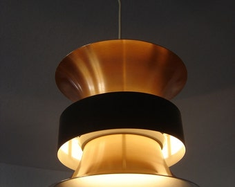 Danish Design | Mid Century Modern PENDANT LIGHT Hanging Lamp | Fog & Morup | Lyfa Era | 1960s