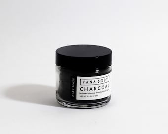 Detox Mask - Charcoal Clay Mask - Detox, Fight Acne, Balance