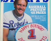 Inside Sports April 30, 1981 George Brett Kansas City Royals Free Shipping