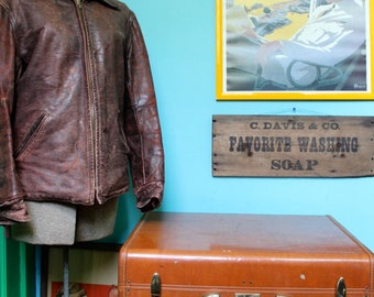 Vintage Samsonite Streamlite Suitcase, Brown Leather Suitcase, Old Suitcases, Vintage Luggage, Luggage, Suitcases. Suitcase Photo Prop