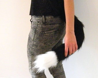 Black Cat Tail, Kitten Costume, Cosplay