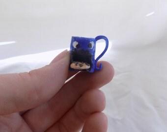 cookie monster mug necklace