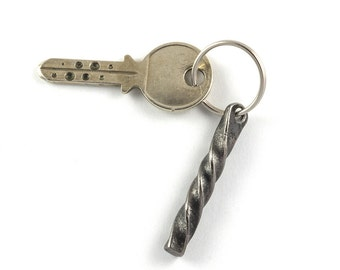 Wrought iron gift - keychain handforged - christmas gift