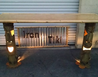 Tiki Bar, Hand Crafted Original!