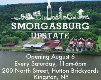 Come see me at the Smorgasburg Upstate market!!