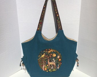 Moonflower Tote