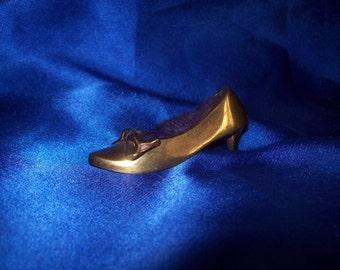 Brass Pin Cushion Ladies Shoe