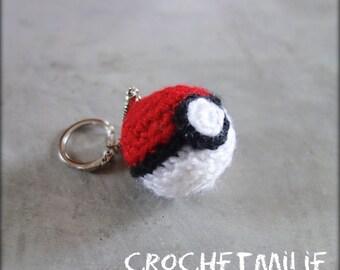 Mini game-ball keychain